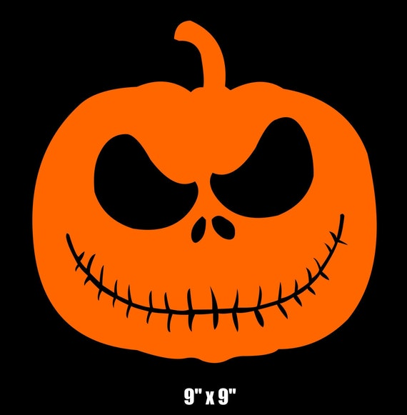 7 Jack Skellington Pumpkin Svg Jpeg Instand Digital Download Vinyl Transfer Diy Applique Patch