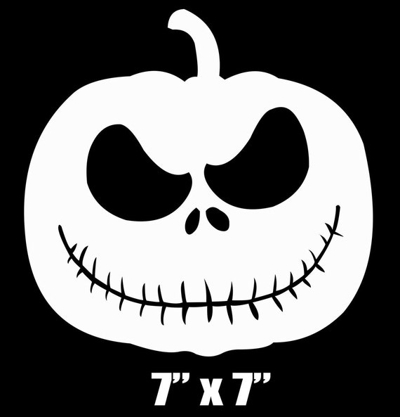 7 Or 9 Jack Skellington Pumpkin Diy Iron On Transfer Applique Patch For Boys Men