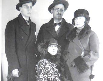 James Joyce Family Photo RPPC Free Shipping Anywhere