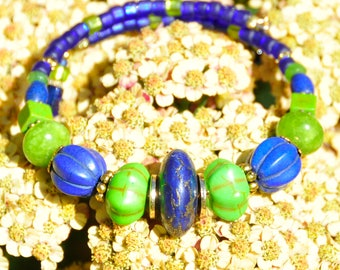 Blue and Green, Tropical!