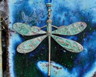 Lucious Sparkly Blue Dragonfly!!!  Heavenly!!