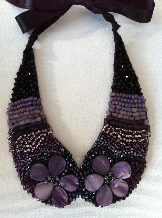 Made to Order Collar Necklace - Hand Sewn