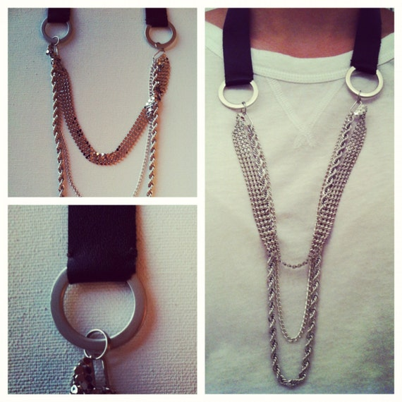 Lyle Mix Media Necklace