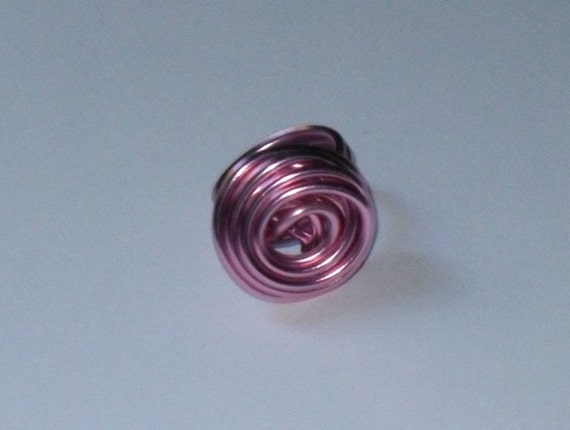 Rose Ring- Light Pink