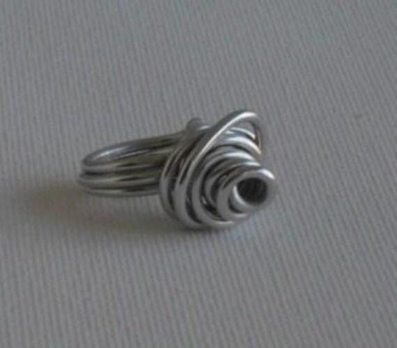 Rose Ring- Silver