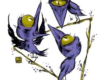 Dream Crow Print