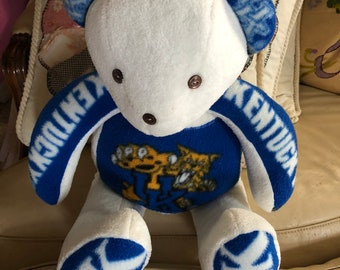 UK University of Kentucky Handmade Teddy Bear