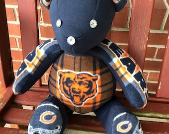 Chicago Bears Handmade  Teddy Bear