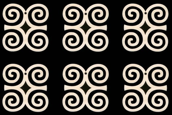 Dwennimmen African Adinkra Symbol For Strength And Humility Etsy