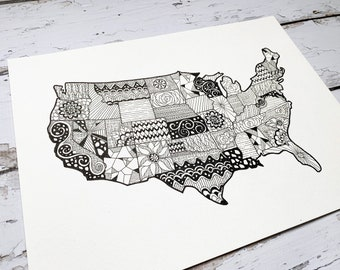 Instant Download United States Micron pen drawing clipart  (.png format-no background)