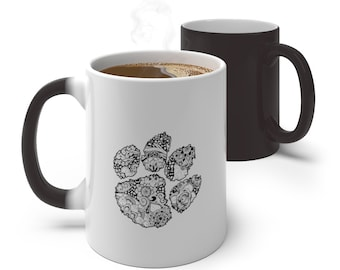 Clemson Paw Color Changing Mug (11 oz)