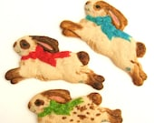 Bunny Cookies Spring Cookies Mothers Day Gift Birthday Favors  Party Favors Gift Cookie Favors Bunny Under 30