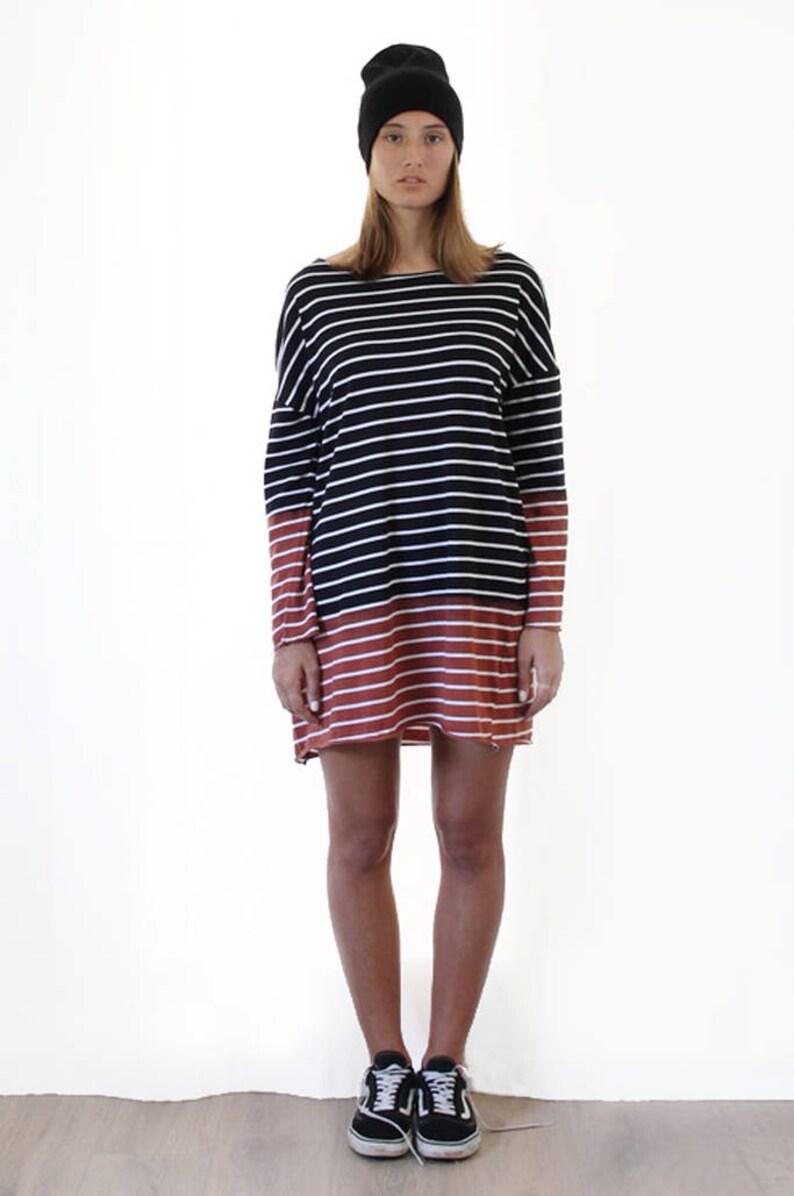 d2abc1108d52 Cotton Dress Striped Dress Long Sleeve Dress Shirt Dress