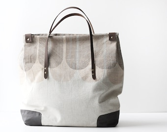 Organic Cotton Weekend Bag