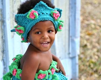 Crochet Princess Mermaid Play Outfit pdf 771