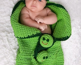 3Peas in a Pod Cocoon and Beanie Crochet Pattern 142pdf