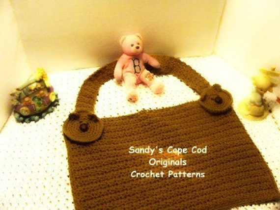 Baby Bear Nursing Cover Up Crochet Pattern Pdf 368 Etsy