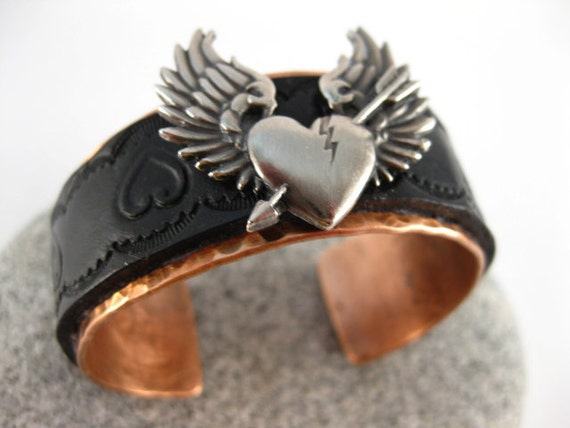 Free shipping to US locations Fits 6.5 to 7 inch wrist Hammered Sterling Silver Cuff  Bracelet reduced rates  to all other countries.