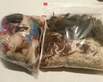 Bird Nesting Refill, Fiber Bird Nests, Bird Nesting Material, Bird Nest Refills, Dyed or Natural