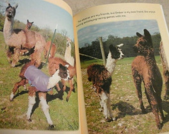 Children's Book, Serendipity the Three Legged Alpaca, Inspirational and Educational Book, Enjoyed by All Ages, Full Color Photos