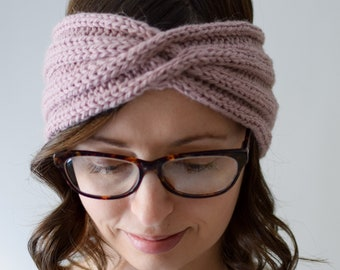 Cable Twist Headband Pattern