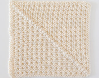 Traveling Knit Afghan Square #22