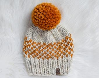 Basic Fair Isle Hat Pattern