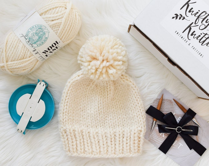 Featured listing image: Pom Pom Beanie Kit