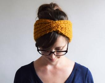 Chunky Twist Headband Pattern