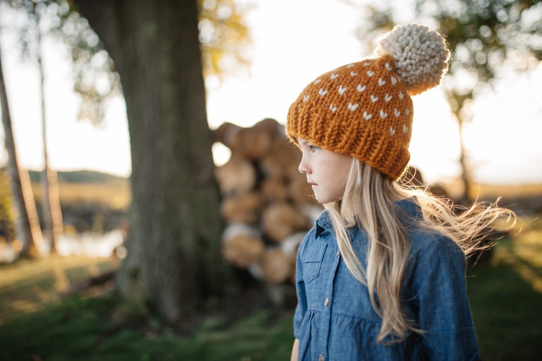 Hat Pattern // Knit Hat Pattern // Toddler Hat Pattern // Fair Isle ...