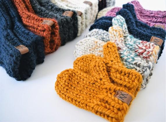 Mitten Pattern Knitting Pattern Knit Mitten Pattern Etsy