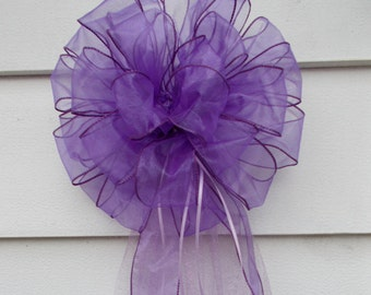 Wedding Pew Bow (Contact Me for Any Color or Any Number)