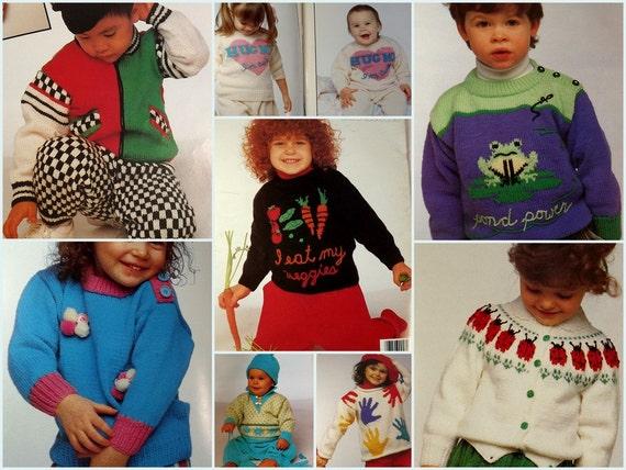 Artículos similares a Patons Togs moda para Tots los niños niños ...