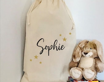 Delivery bag Drawstring Sack personalized Old Toys for Santa Sack Express Delivery Christmas Toy Donation Bag