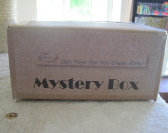Fall 2021 - Mystery Box- Fun Cat Toys and Accessories by Crazy About Catnip
