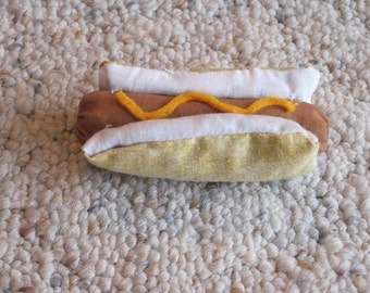 Hotdog - Hot Dog Cat Toy - Unique Cat Toys Filled with Organic Catnip