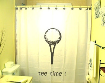 Popular Items For Golf Shower Curtain