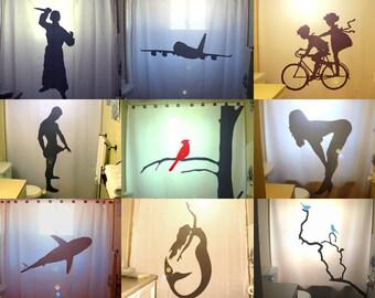 Unique Custom Shower Curtain