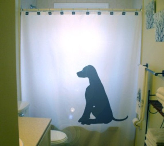 Delicieux Labrador Retriever Shower Curtain. Black Lab Puppy Dog | Etsy