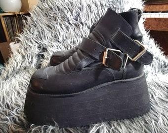 4d173581b7923 Frankenstein shoes | Etsy