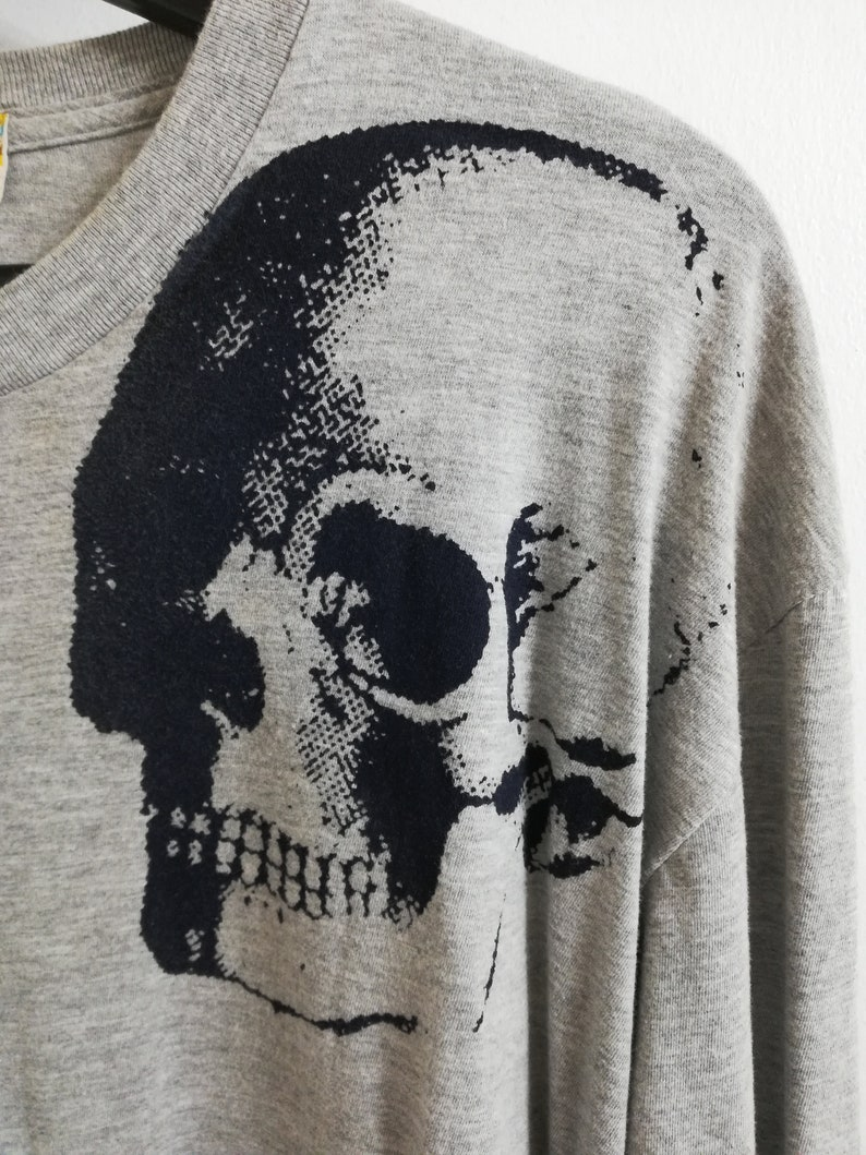edca19a51bc Collector crâne libertin chemise tshirt large XL pour homme