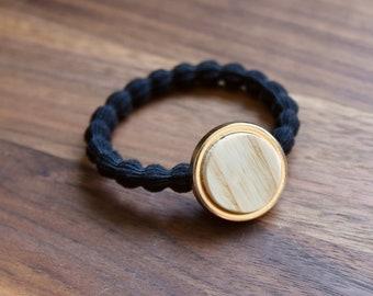 hair elastic handmade, élastic with wood made in Canada