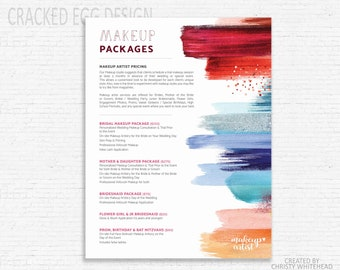 Makeup price list etsy makeup pricing sheet photoshop template custom pricing smears smudges lipstick price template sparkles lipstick salon pricing publicscrutiny Choice Image