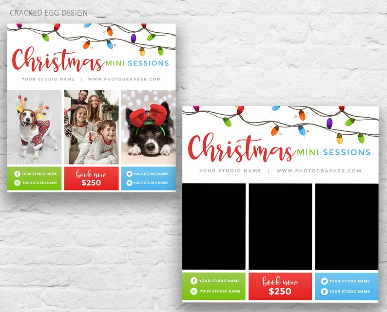 Marketing Template for Photographers Holiday Lights Ideal image 0