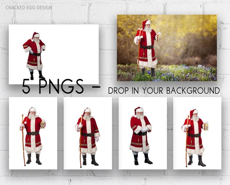 For Photographers Santa Overlay Santa Standing Traditional image 0
