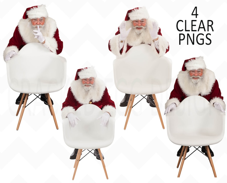 Santa PNG with Real Beard Perfect to Drop into Your backdrop image 0