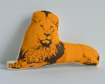 Silkscreen Lion Toy