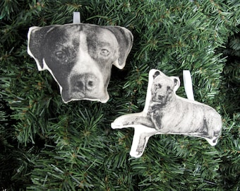 Custom Silkscreen Pet Ornament