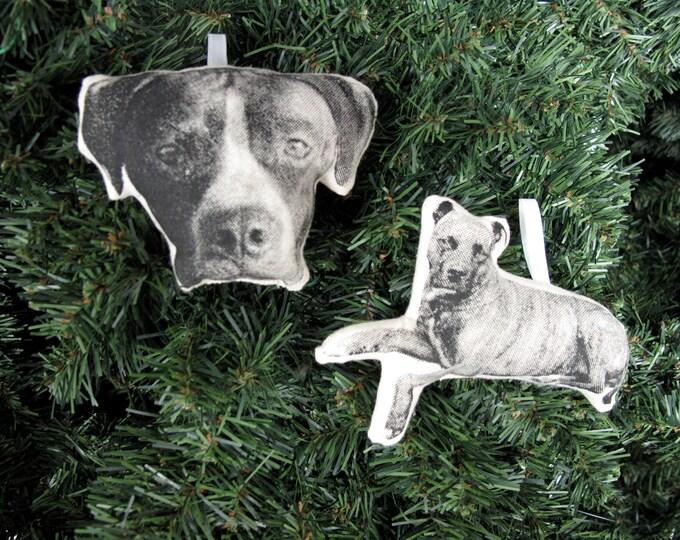 Featured listing image: Custom Silkscreen Pet Ornament