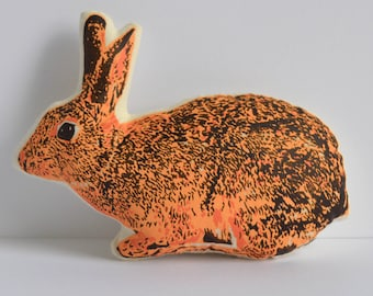 Silkscreen Bunny Toy
